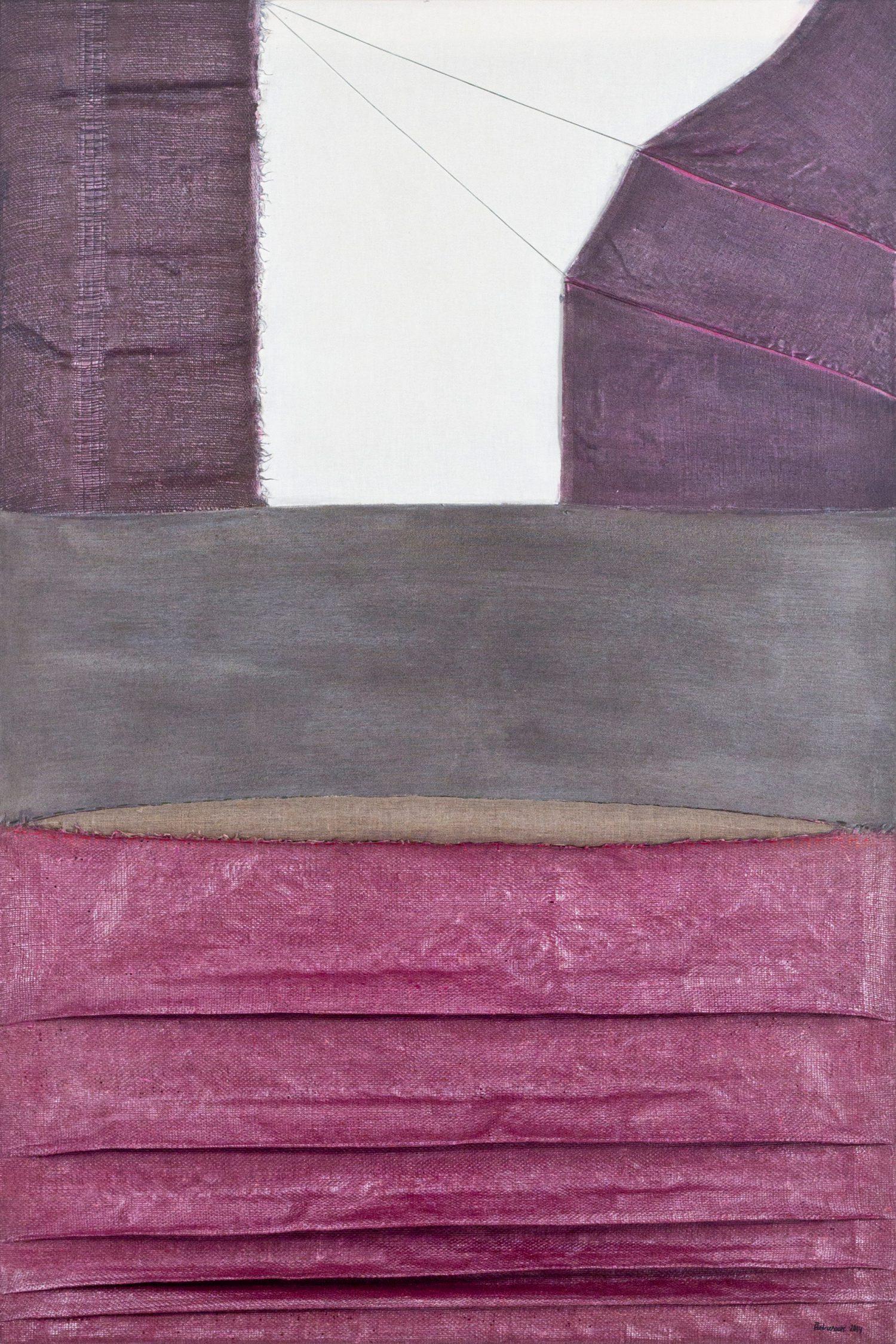 Meditatiivne maastik 2, 2014, Autoritehnika, 150×100