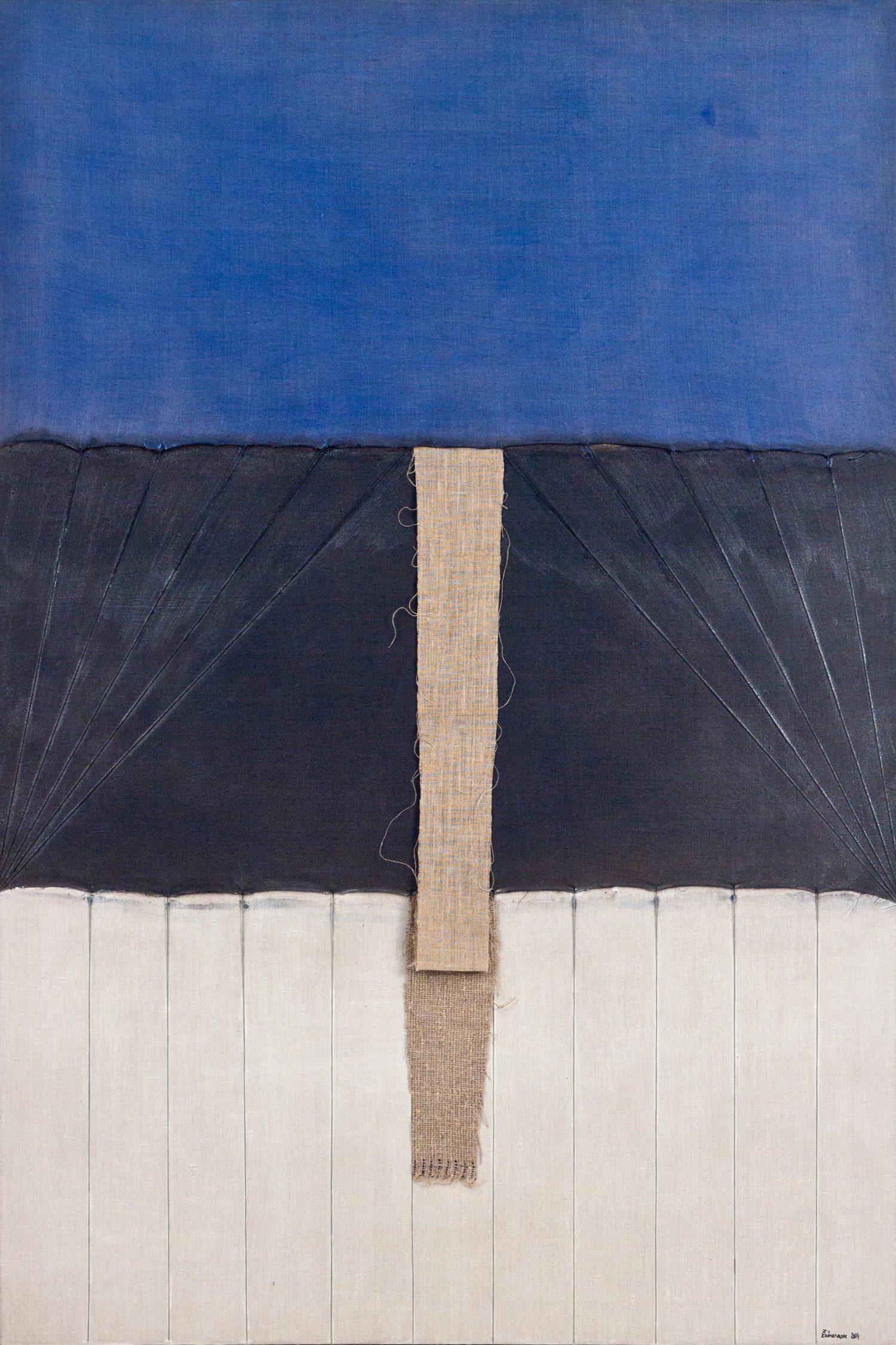 Meditatiivne maastik 3, 2014, Autoritehnika, 150×100