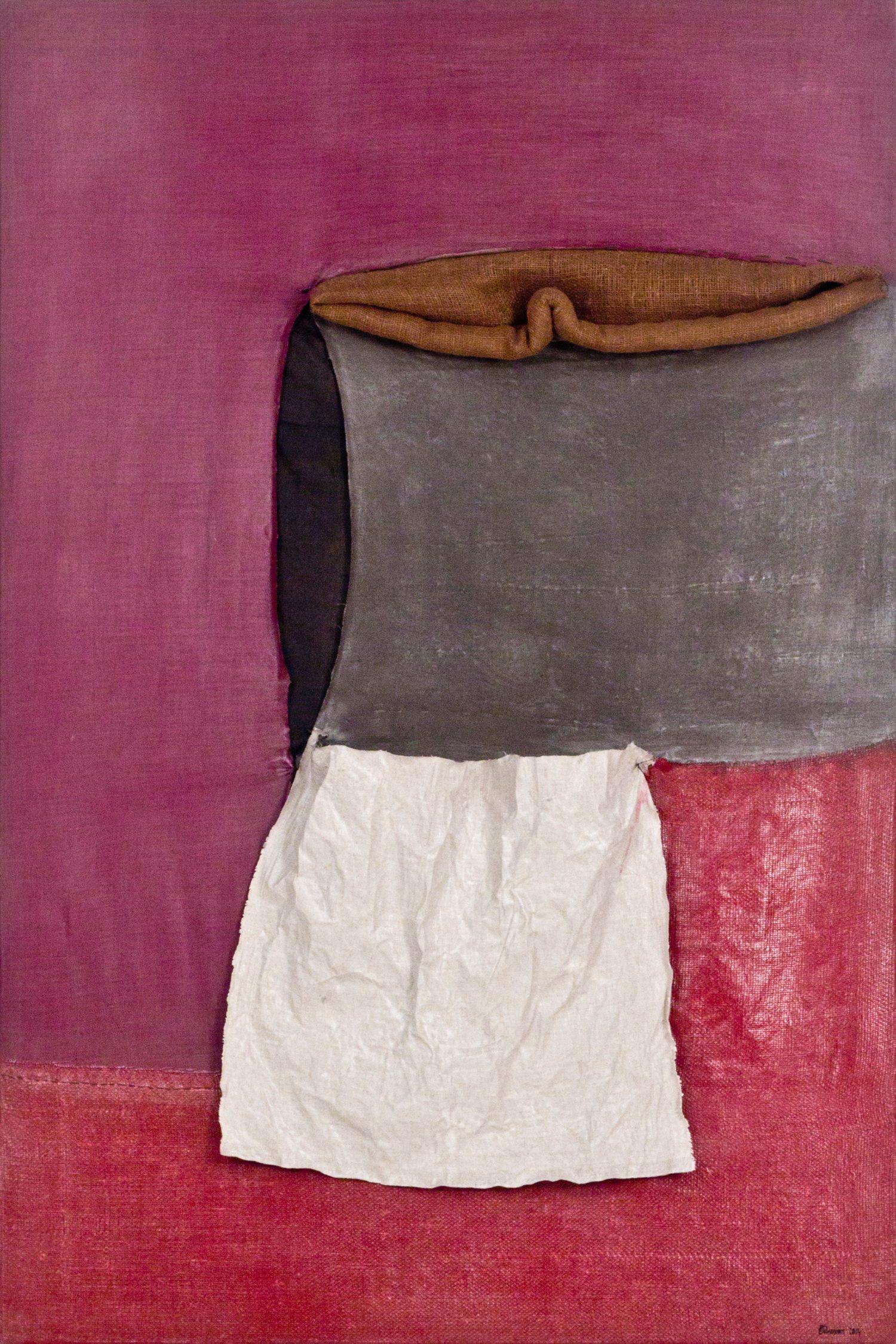 Meditatiivne maastik 7, 2014, Autoritehnika, 150×100