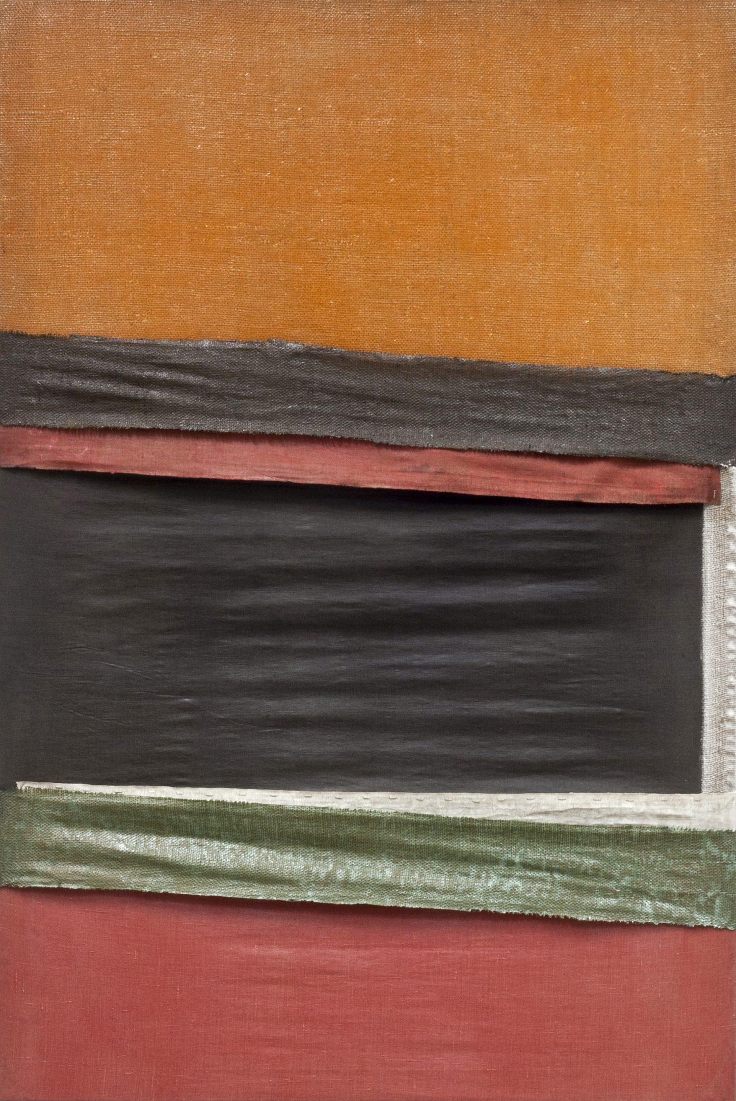 Meditatiivne maastik 8, 2014, Autoritehnika, 150×100